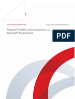 Solution Deployment Guide Polycom Unified