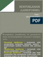 Bentuklahan (Landforms)