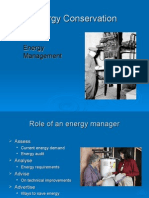 Lecture Energy Management