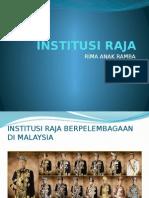 Institusi Raja