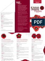 5000 Poppies Knit and Crochet Patter
