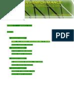 Soccer Performance. Articoli e contributi per la performance calcistica. Gennaio 2010