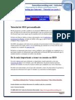 El SEO y El Marketing Por Internet Tutorial SEO Parte 1 Articulos en PDF