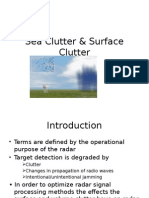 Sea Clutter & Surface Clutter.pptx