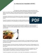 diez Consejos De Una Alimentacion Saludable (EUFIC)