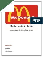McDonald Final Report