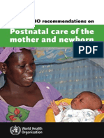 [SẢN] W4.5 - Must read  - Post-partum care WHO 2013.pdf http://bsquochoai.ga || bsquochoai