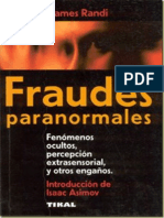 Fraudes Paranormales - Randi, James