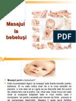 Masajul La Bebelusi