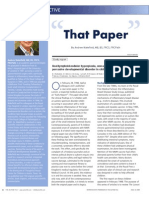 """""""That Paper"""" by Andrew Wakefield, MB, BS, FRCS, FRCPath"""