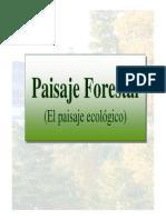 Clase Paisaje Forestal-ecologico