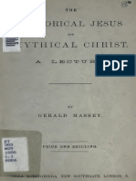 The Historical Jesus and Mythical Christ by Gerald Massey
