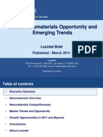 Global NanoMaterials Opportunity