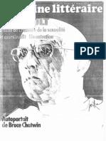 Foucault (Magazine Littéraire 207, Maig 1984)