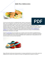 Plan De Dieta Saludable Para Adolescentes