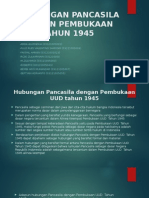 Hubungan Pancasila Dengan Pembukaan UUD Tahun 1945