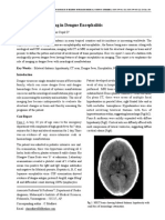 Vol-1, Issue-1 Role of Neuro-Imaging in Dengue Encephalitis