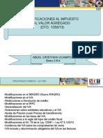 IVA 2014. Decreto 1030.13 INSTITUCIONAL.ppt