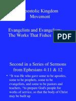 soul winning of an evangelist