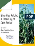 Corn Stalks PAPTAC 2005