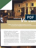 Pocket Virtual World - Press Release - BGSU - 3