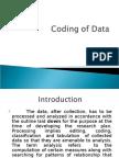 Coding of Data