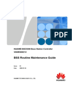 BSS Routine Maintenance Guide(V900R008C12_03)