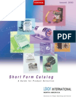 Relay Short Form Catalog