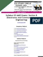 Syllabus Amie Syllabus Section b (EC)