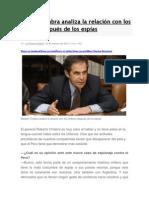 Roberto Chiabra Analiza La Relación Con Los Chilenos Después de Los Espías