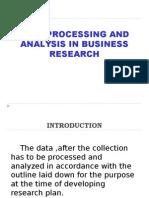 Data Processing & Analysis in b.r.