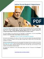 Latest News, Modi Stresses Indian Ocean Region's Importance
