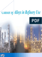 New - 02 Classes of Alloys in Refinery Use