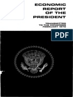 Economic Report to the President 1970