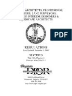Licencing Regulation in Va State