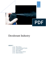Group7 Deodorant Industry Part1