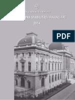 Raportul Stabilitati Financiare 2014