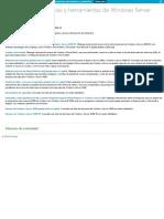 Ws2008. Comandos, Referencias y Herramientas de WindowsServer