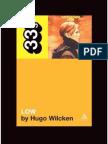 David Bowie's Low (33 1_3) - Hugo Wilcken