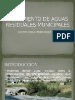 Tratamiento de Aguas Residuales Municipales