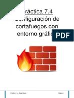 Configuración de Firewall