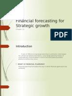 Financial Forecasting for Strategic Growth