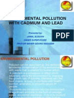 Enviromental Pollution With Cadmium and Lead