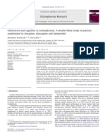 Cholesterol and cognition in schizophrenia A double-blind study of patients.PDF