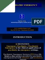 Dr. Lawi, Psycyhiatric Emergency