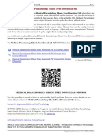 Parasitology pdf baveja