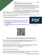 Medical Parasitology eBook Free Download PDF JpRVx