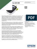Epson LabelWorks LW 400 Brochures 3