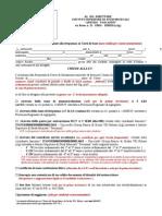 Domanda Di Iscrizione Ai Corsi Di Base 2014-15