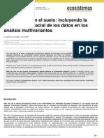 Estructura Espacial de Datos CANOCO